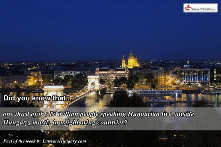 If you need legal consultancy for your business in #Hungary please contact our #Hungarian lawyers. http://www.lawyershungary.com/ #Hungarianfacts #curiosities #factoftheweek