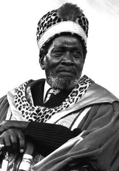 1st Kenya's president, Jomo Kenyatta