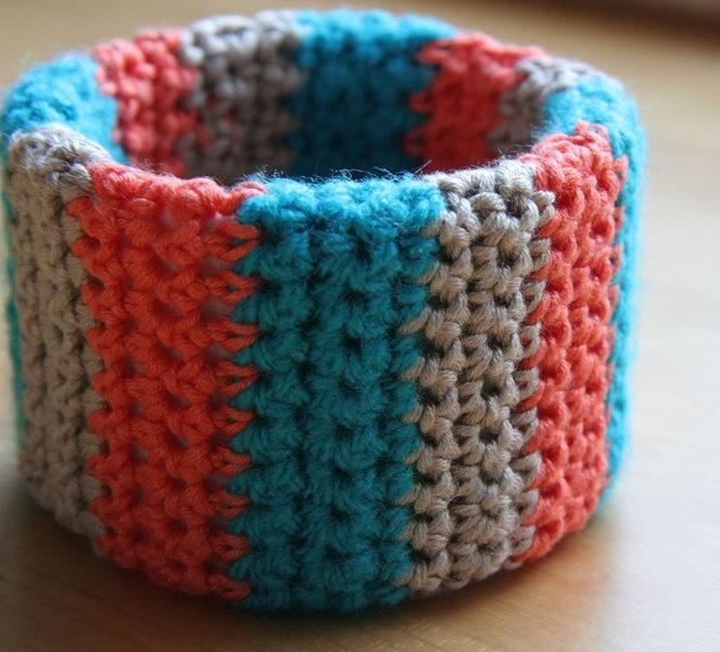 #crochet #bracelet, own handmade design