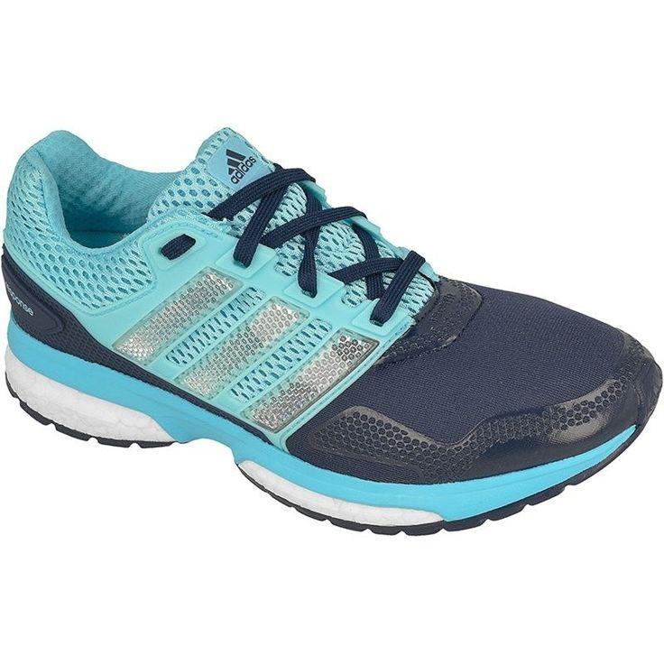 Buty biegowe adidas Response 2 Techfit W  Właściwości: damskie buty biegowe przeznaczone do biegania na twardych nawierzchniach