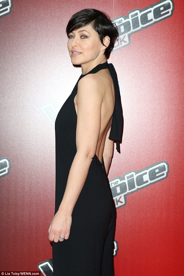 ... Emma's backless jumpsuit was a sexy touch ... | Hair Ideas | Pinterest