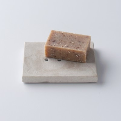 Hand Carved Stone Soap Dish from Schoolhouse Electric & Supply Co.