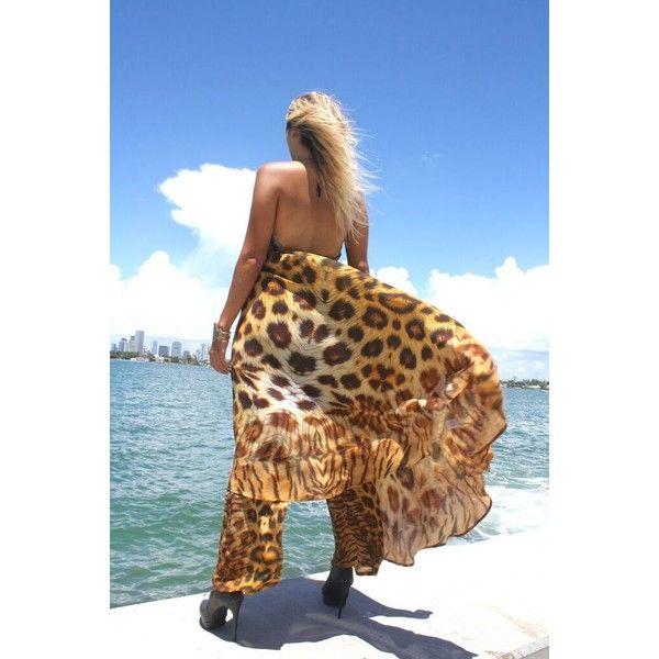 animal print Maxi cardigan,Long cardigan, Maxi cardigan,blue cardigan,... ❤ liked on Polyvore featuring tops, cardigans, animal print cardigans, brown top, blue cardigan, leopard cardigans and leopard top