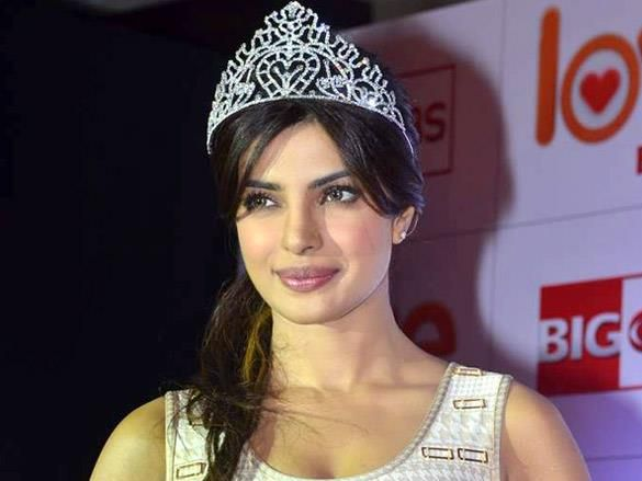 Miss World 2000, Priyanka Chopra of India.