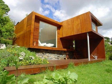 Pequena casa modular moderna de Tommie Wilhelmsen  - http://www.casaprefabricada.org/pequena-casa-modular-moderna-de-tommie-wilhelmsen