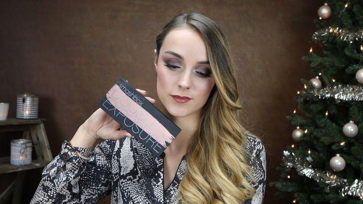 Neutral Glam Kerst Make-up ♥ Smashbox Double Exposure Palette