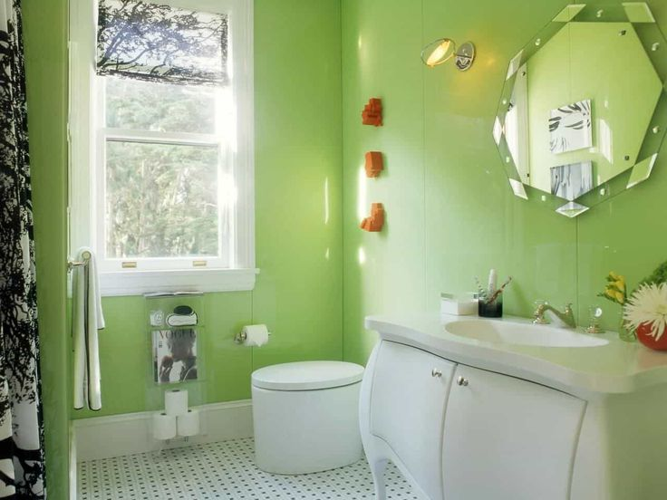 Decorate A Room With Lime Green Wall Color