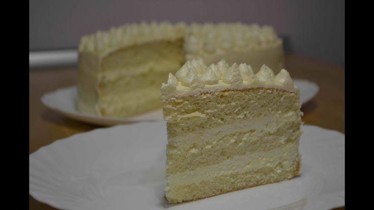 "Торт ""ПЛОМБИР"" или Торт со Вкусом Мороженого| Крем ""Пломбир"" для торта  | Cake Ice Cream - YouTube"