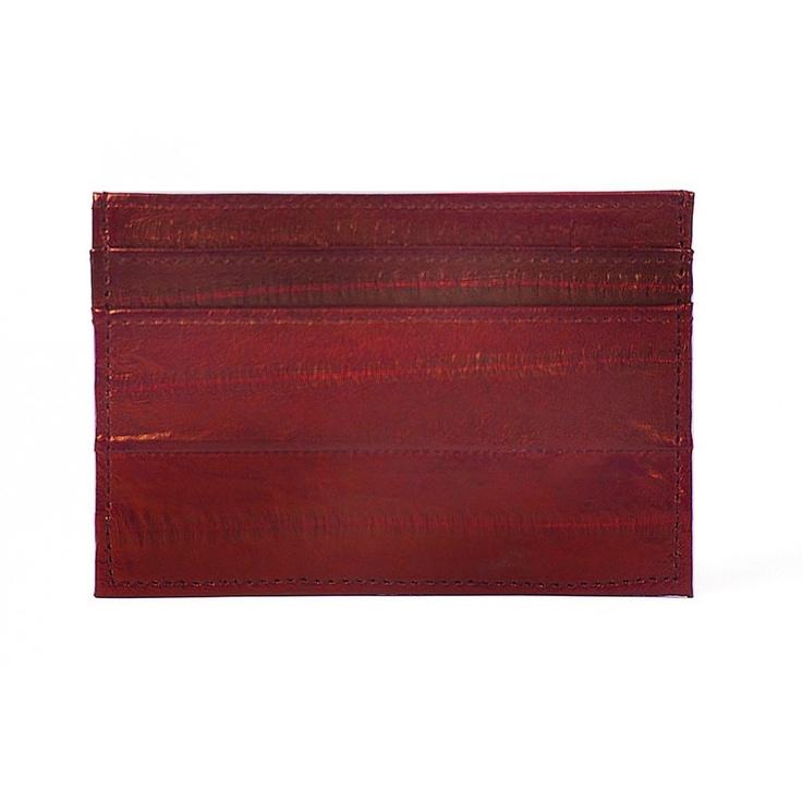 Makki Card Holder - Red