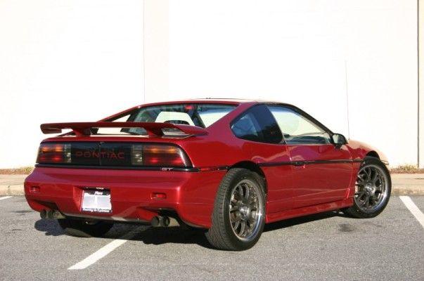 1986 Pontiac Fiero GT, beautiful.