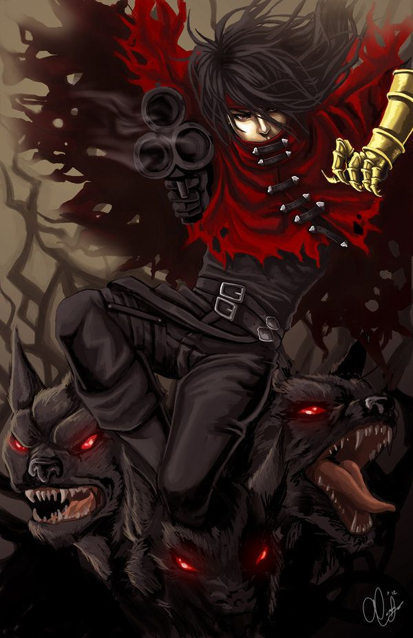 Vincent Valentine by ~Starrhettix on deviantART