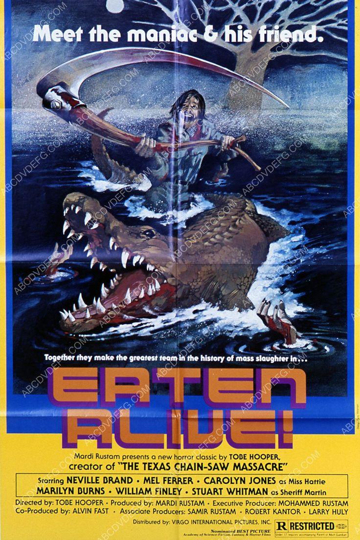 Neville Brand horror film Eaten Alive 35m-3359