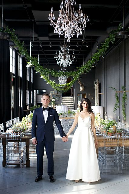 A Magnificent Calgary Wedding Fuses Classic & Fun #refinery29  http://www.refinery29.com/martha-stewart-weddings/11#slide17  RELATED: This Wedding Included A Gorgeous Horse-Drawn Carriage