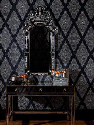 Jewel Wallpaper - Black/Gold. Julien MacdonaldBlack HomeJewelGothic