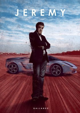 metal canvas Movies & TV jeremy clarkson lamborghini gallardo top gear