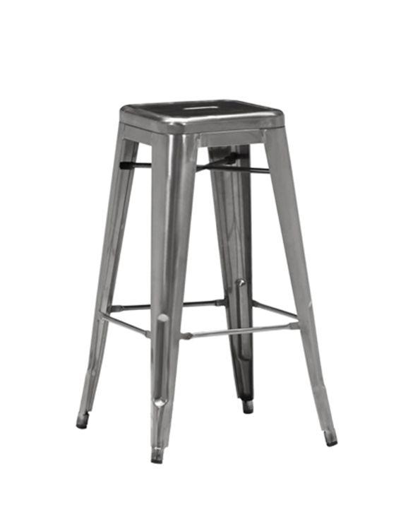 Cali 956 Backless Metal Bar Stool