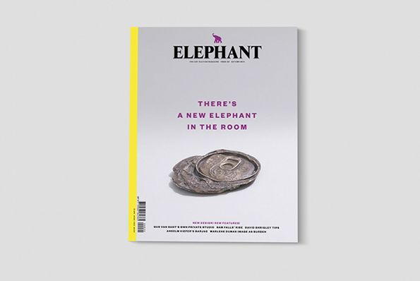 Astrid Stavro and Pablo Martin redesign Elephant magazine
