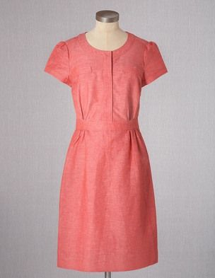 I've spotted this @BodenClothing Weekender Dress Red
