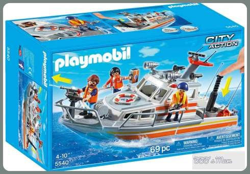 bateau de sauvetage playmobil