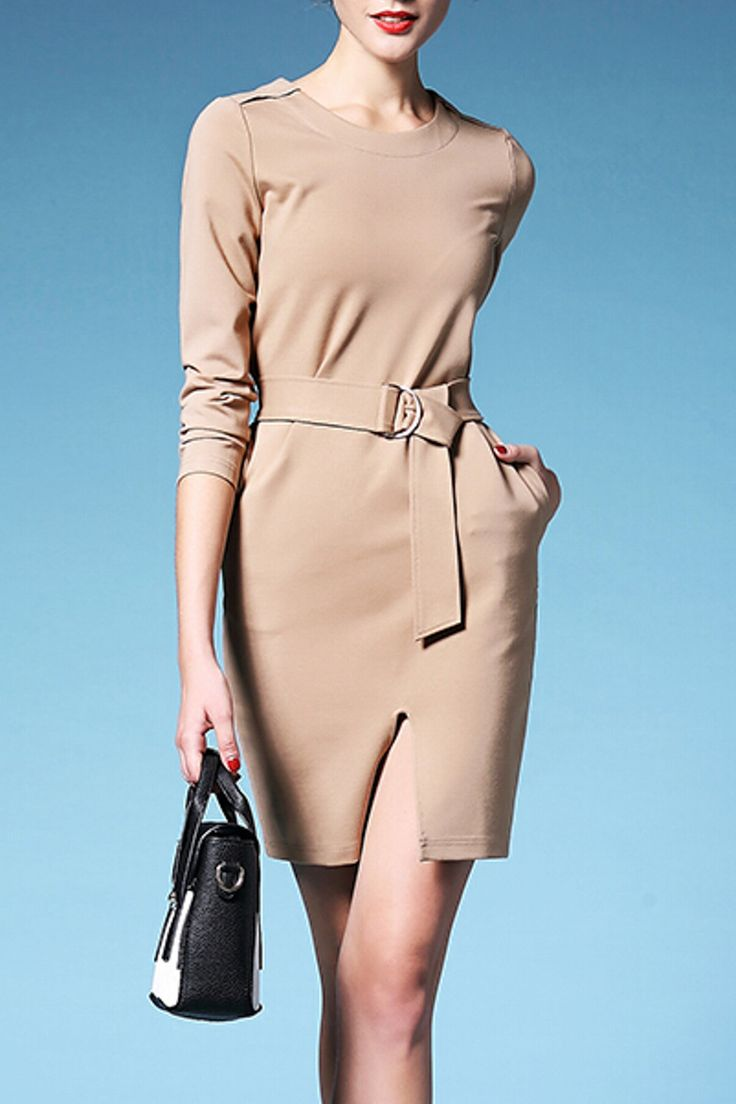 Hannou - Agnes Dress in Khaki