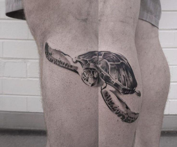 The Minimalist Tattoos Of Lee Stewart Look Like Paint ...