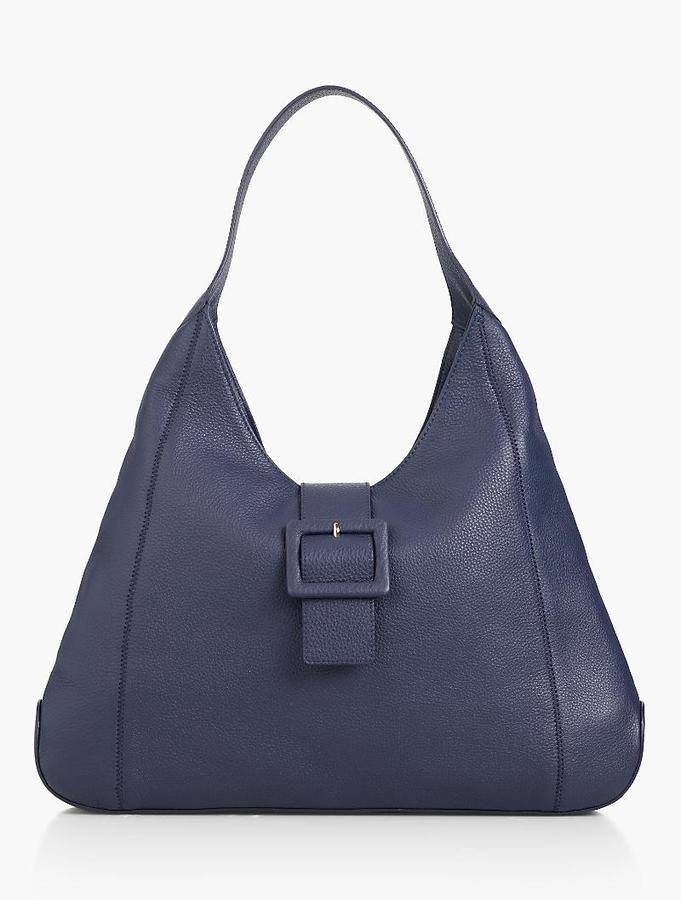 119 25 Buckle Tab Hobo Bag