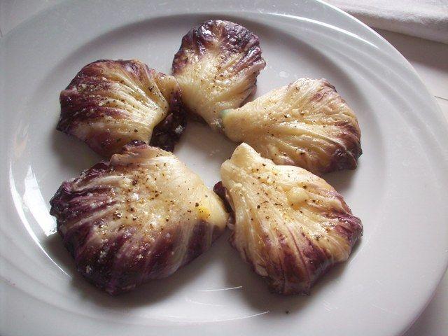 Bocconcini di radicchio patate e mozzarella