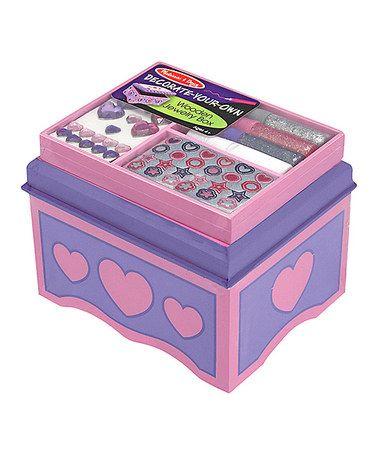 Loving this Personalized Jewelry Box - DYO on #zulily! #zulilyfinds