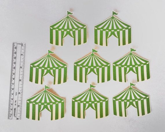 Circus Tent Cut Outs Circus Theme Party Die Cuts Circus