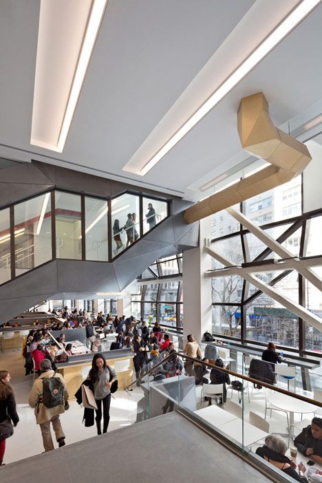 SOM completes campus building for The New School in New York / @Dezeen magazine   #socialcampuses