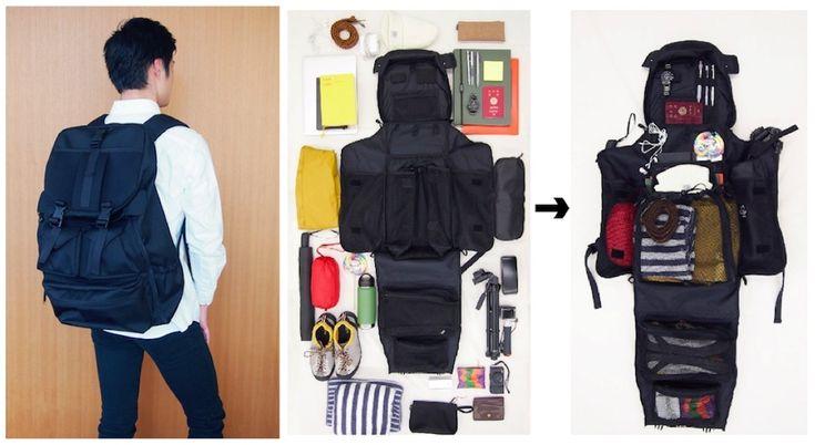 いかに収納力の高いバッグパックであっても、バッグパックである以上は袋構造になってしまうもの。NOMADOは、そんなストレスに立ち向かったアイディアバッグパック「CLOSET BAG(クローゼットバッグ)」が、資金調達のキャンペーンを始めました。