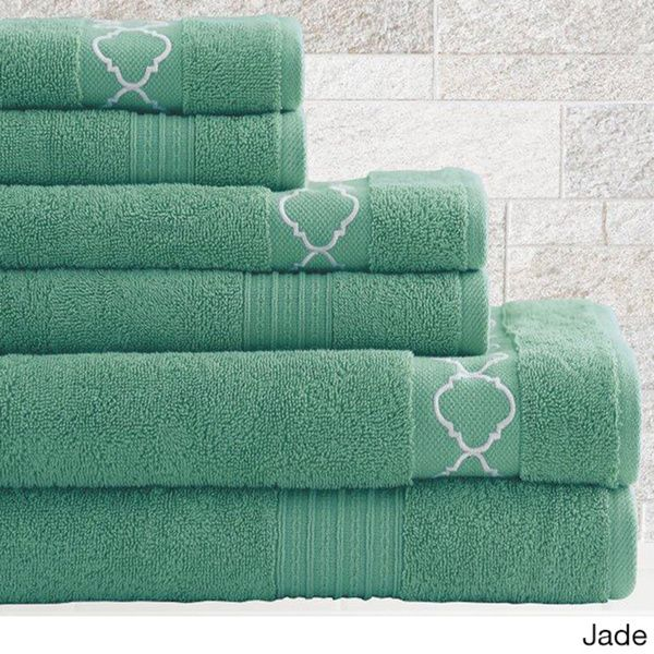 This Decorative Bath Towel Set Will Make Your Bathroom Feel Like A Five Star Hotel Made Of