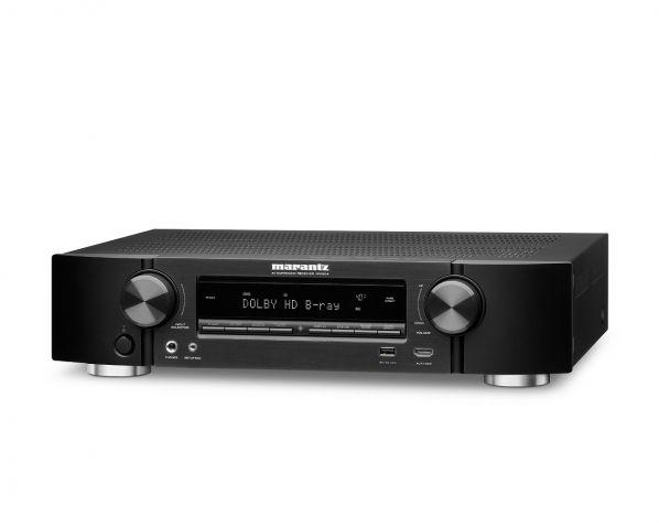 Marantz NR1605: Ampli 7.1 slim, Upscaling UHD #4K, MultEQ XT, AirPlay, HDMI 2.0