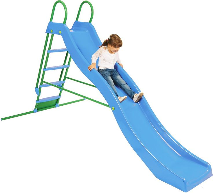 Kettler Home Playground Equipment: Wavy Slide with 9' Chute, Youth Ages 3+