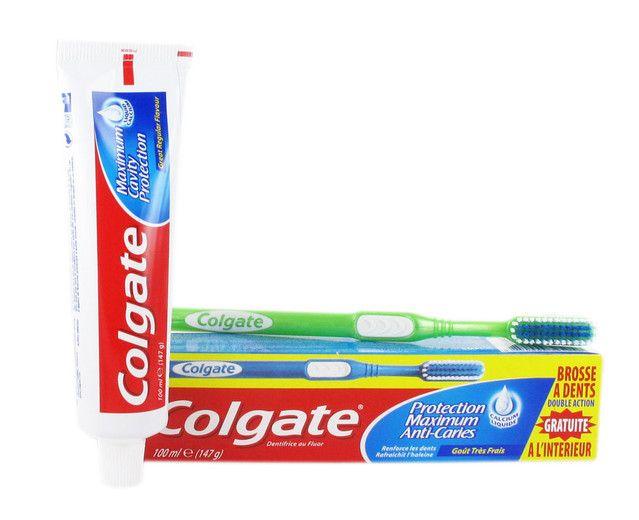 Brosse à dents et dentifrice Colgate GRATUITS !