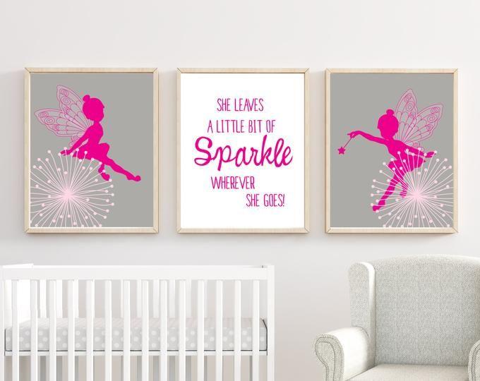 BabyMädchenKinderzimmerWandKunst, personalisierte