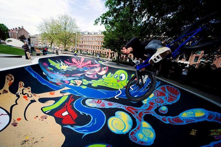 lastplak_skatebowl_Piet van der Meer