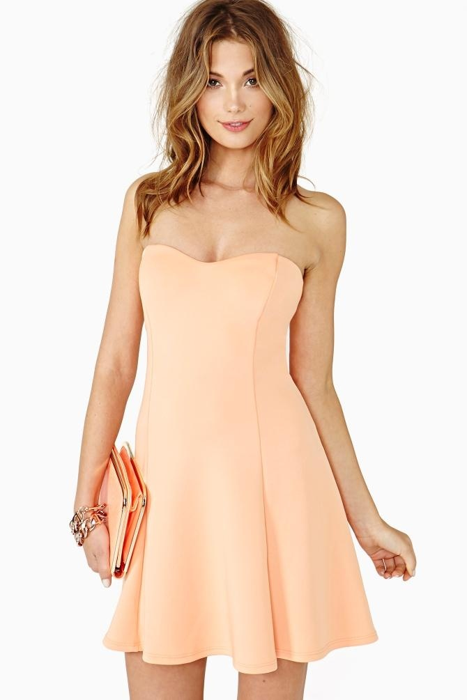 Color Crush Skater Dress in Clothes
