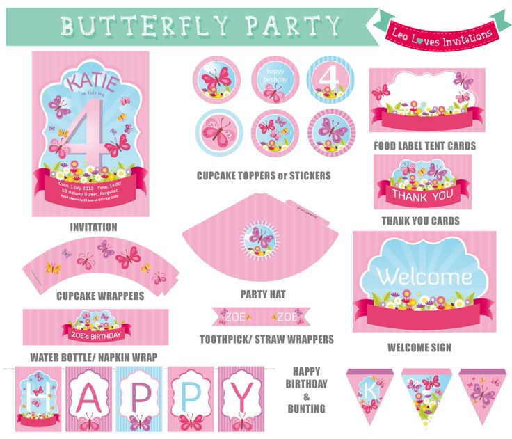 17+ Best Images About Party Printables On Pinterest