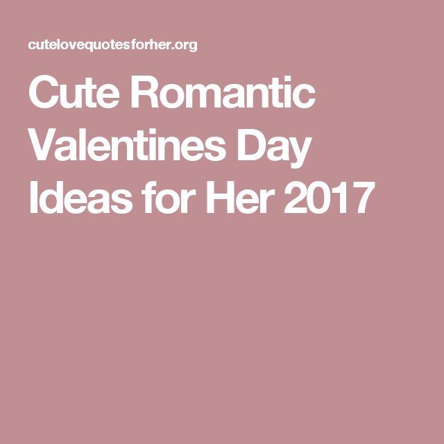 Best 25 romantic ideas for her ideas on pinterest for Romantic valentines ideas for her