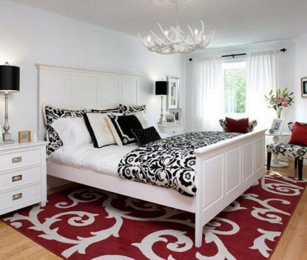 Top 10 Bedroom Design Ideas Red Black White  Top 10 Bedroom Design Ideas Red Black White | Home great home there are no other words to describe it. The best place to relax your brain when you are at home. Irrespective of where you are on. Certainly youd be back to your home. Some people believe that their house is their heaven. They often look appropriate home design ideas for every single room they may have. In this article we wish showing a great masterpiece collection includes some very…