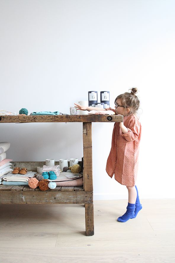 Maé et l'établi chez Motherlygrey by Petit sweet