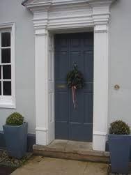farrow and ball door in downpipe