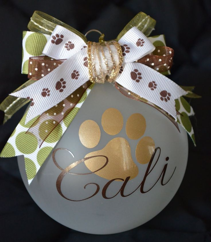 Cher's Signs by Design.  Personalised ornament
