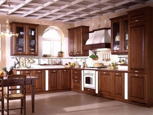 Modern Wood Kitchen Cabinets best 20+ solid wood kitchen cabinets ideas on pinterest | solid