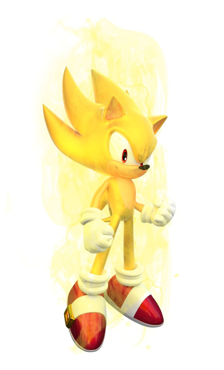 Sonic the Hedgehog - Super Sonic