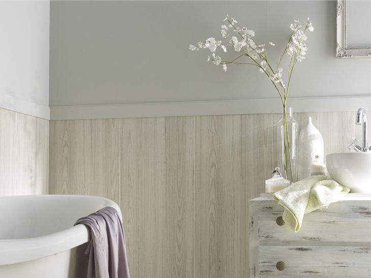 Les 20 meilleures id es de la cat gorie salle de bains lambris sur pinterest - Lambris sur mur ...