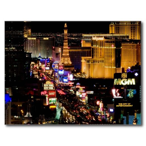 Postcard / Carte Postale Las Vegas Strip