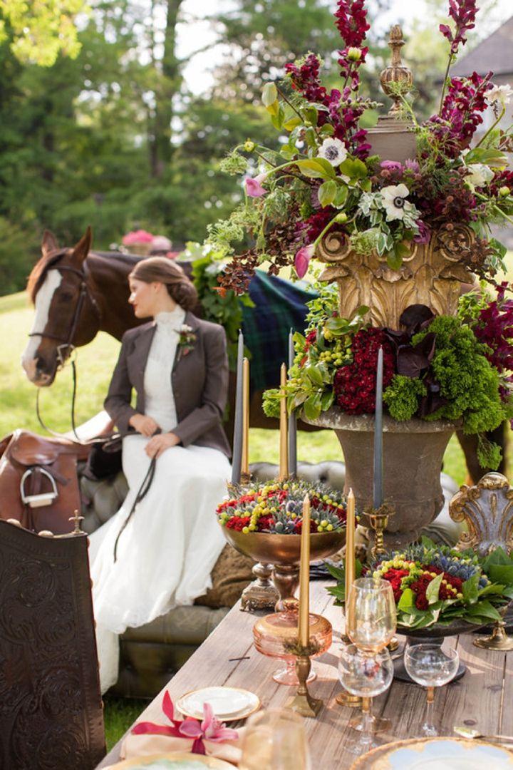 Elegant Equestrian Inspired Wedding Ideas - Every Last Detail