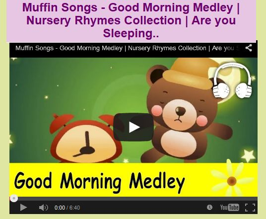Muffin Songs - Good Morning Medley | Nursery Rhymes Collection | Are you Sleeping..